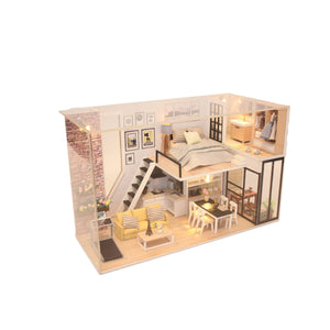 Bouwpakket Volwassenen - Give You Happiness - Modelbouw - Knutselen – Poppenhuis - DIY Dollhouse