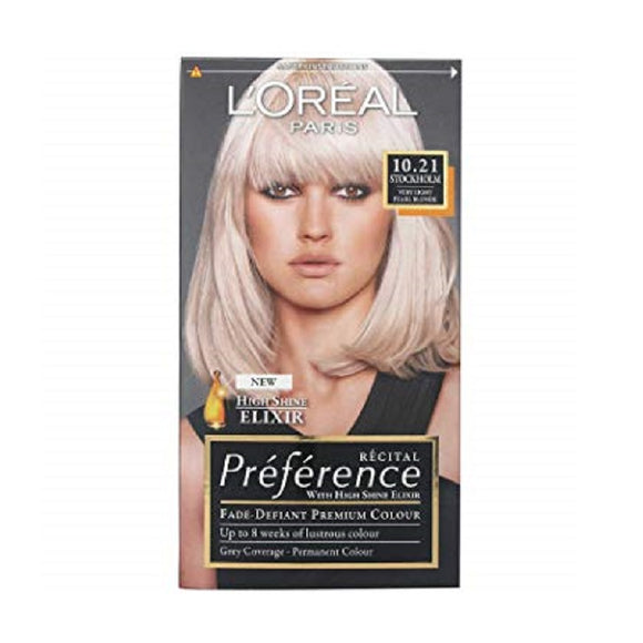L'Oreal Recital Stockholm 10.21 <br> Pack size: 3 x 1 <br> Product code: 204840