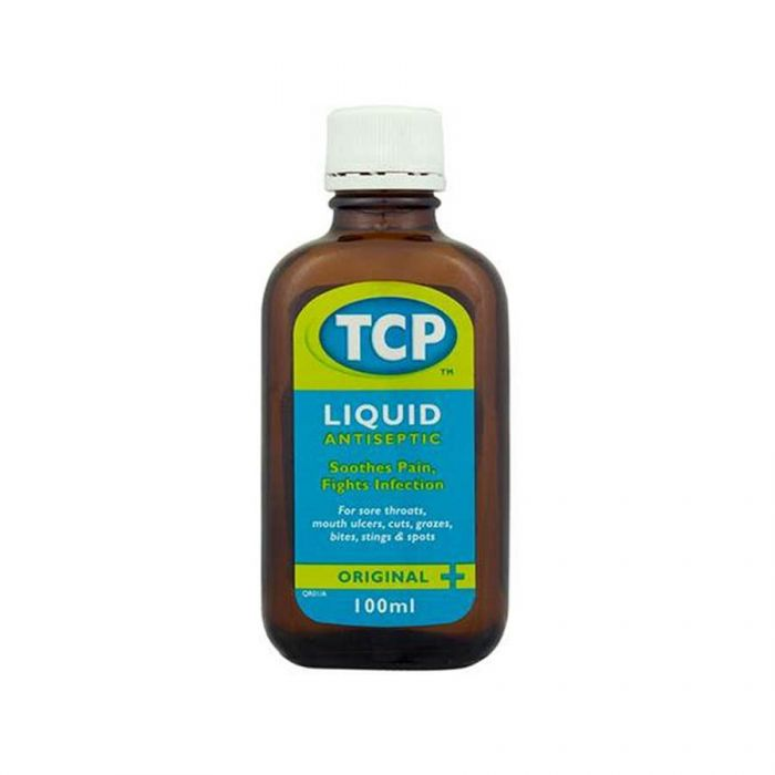 Tcp Liquid Antiseptic 100Ml <br> Pack size: 12 x 100ml <br> Product code: 136990