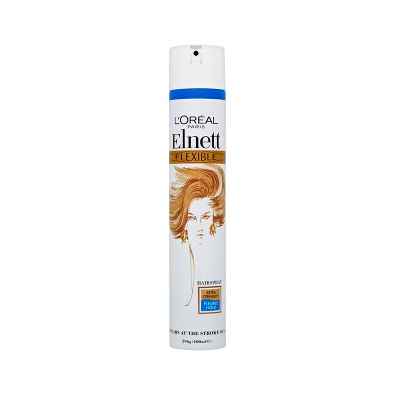 L'Oreal Elnett Hair Spray Flexible Extra 200Ml <br> Pack Size: 6 x 200ml <br> Product code: 163080