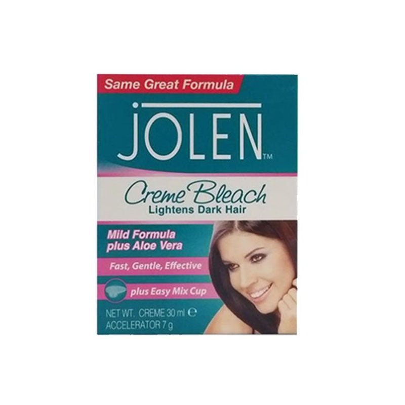 Jolen Creme Bleach Mild 30Ml <br> Pack Size: 6 x 30ml <br> Product code: 165530