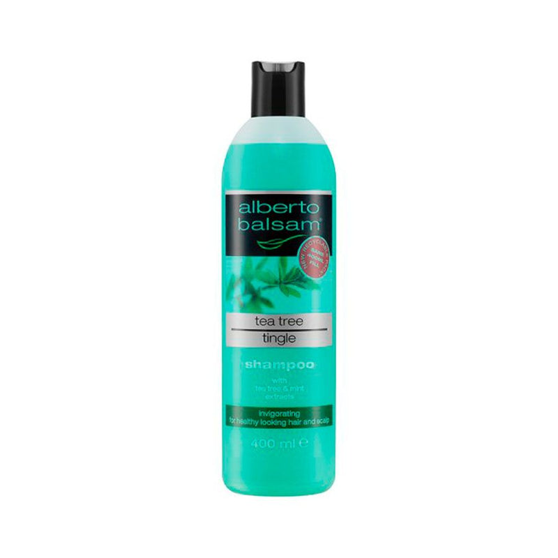 Alberto Balsam Shampoo Tea Tree 350Ml <br> Pack Size: 6 x 350ml <br> Product code: 171046