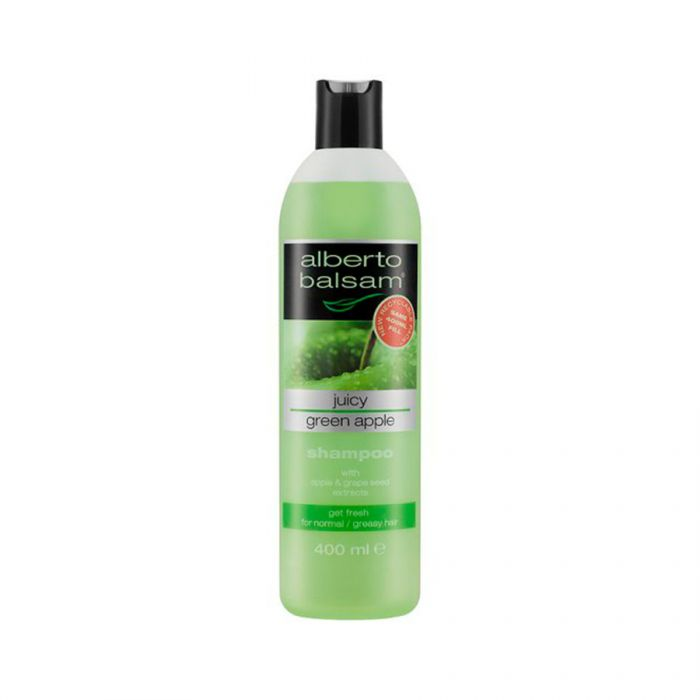 Alberto Balsam Green Apple Shampoo 350Ml <br> Pack size: 6 x 350ml <br> Product code: 171048