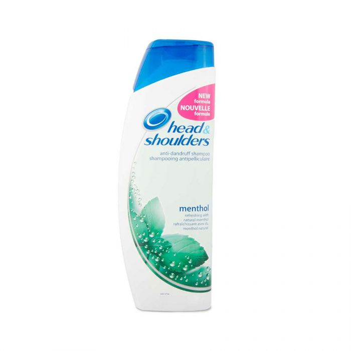 Head & Shoulders Shampoo Menthol 400Ml <br> Pack size: 6 x 400ml <br> Product code: 173718