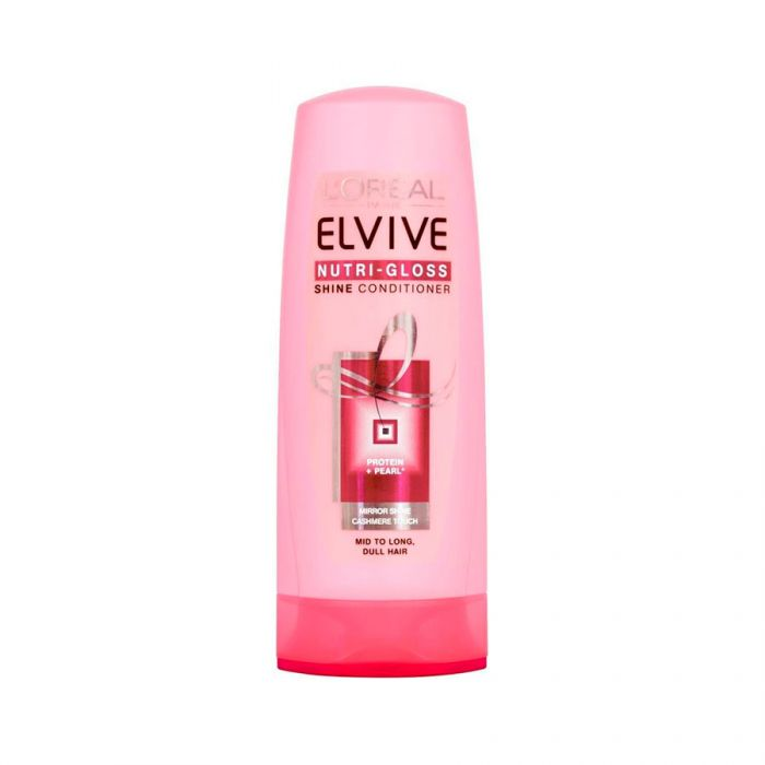 L'Oreal Elvive Conditioner Nutri Gloss 400Ml <br> Pack size: 6 x 400ml <br> Product code: 181368