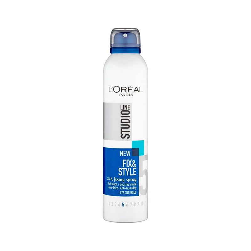 L'Oreal Studio Line Fix & Style Hairspray 250Ml <br> Pack Size: 6 x 250ml <br> Product code: 193531