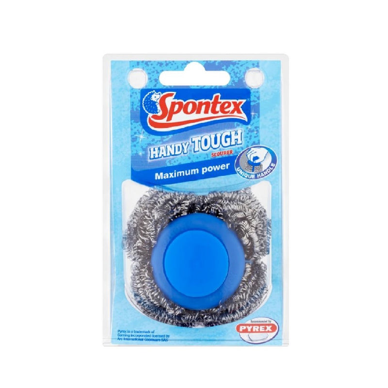 Spontex Handy Tough Scourer <br> Pack size: 6 x 1 <br> Product code: 496848