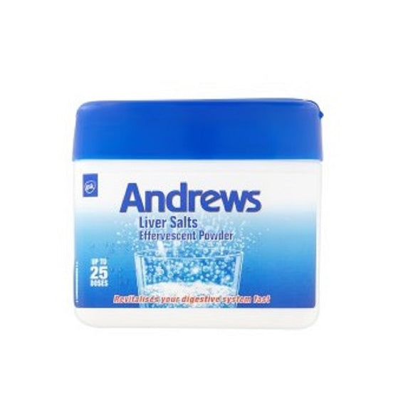 Andrews Liver Salts 150Gm <br> Pack size: 6 x 150g <br> Product code: 181251