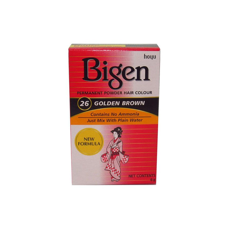 Bigen Hair Care 26 Golden Brown <br> Pack Size: 3 x 1 <br> Product code: 200295