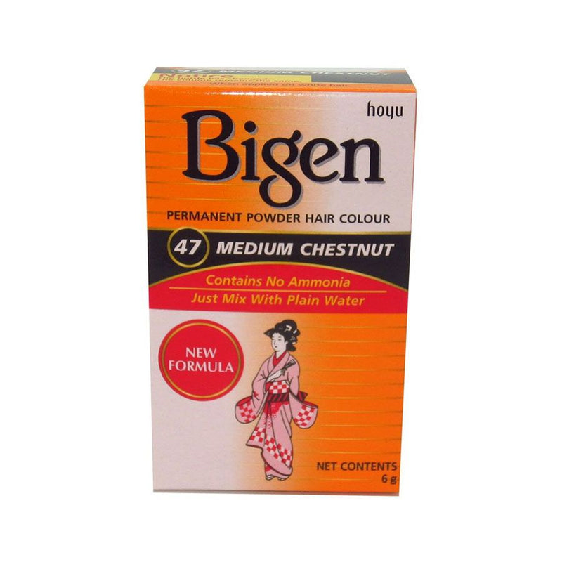 Bigen Hair Care 47 Medium Chestnut <br> Pack Size: 3 x 1 <br> Product code: 200310