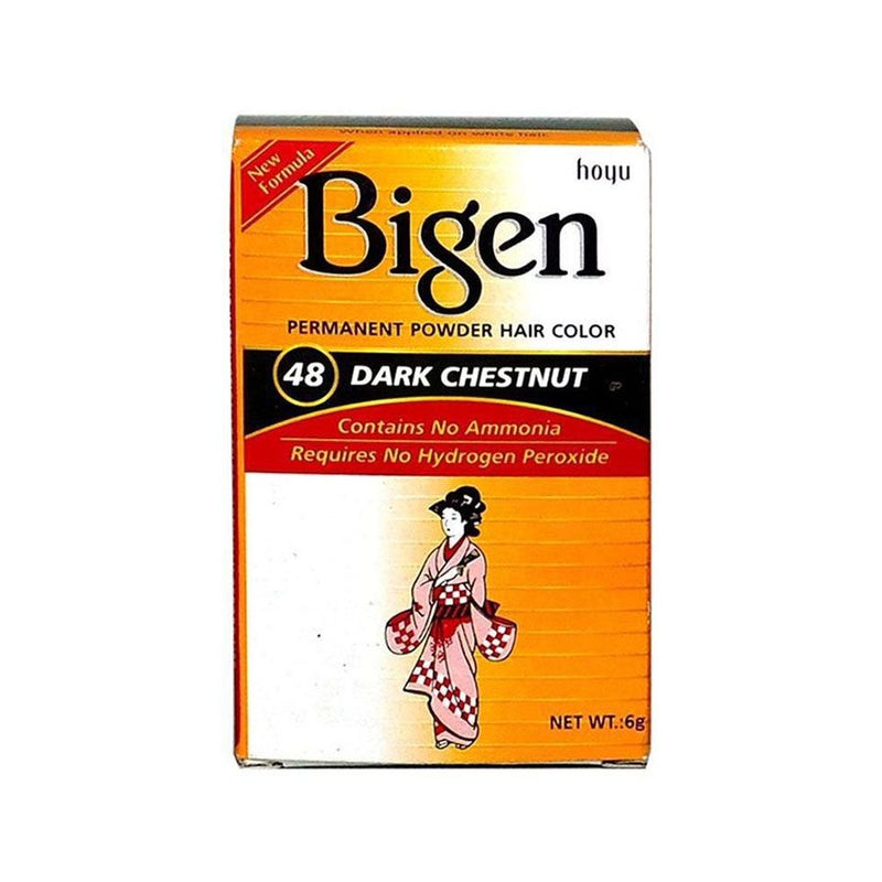 Bigen Hair Care 48 Dark Chestnut <br> Pack Size: 3 x 1 <br> Product code: 200320