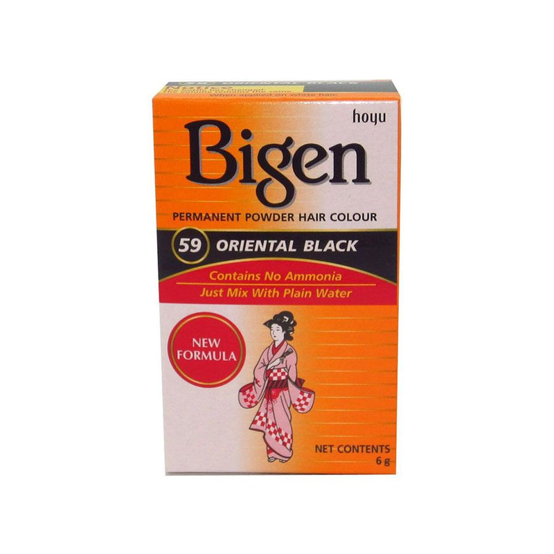Bigen Hair Care 59 Oriental Black <br> Pack Size: 3 x 1 <br> Product code: 200360