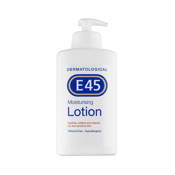E45 Moisturising Lotion 200Ml <br> Pack size: 6 x 200ml <br> Product code: 222700