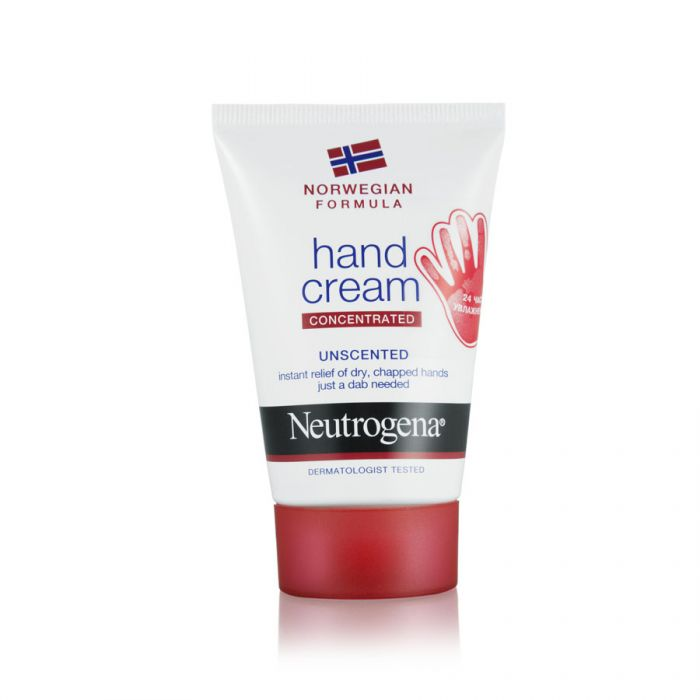 Neutrogena Norwegian Formula Hand Cream Unscented 50G <br> Pack size: 6 x 50g <br> Product code: 224280