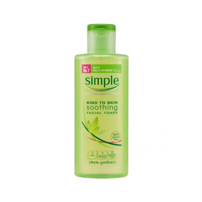 Simple Kind To Skin Soothing Facial Toner 200Ml <br> Pack size: 6 x 200ml <br> Product code: 226580