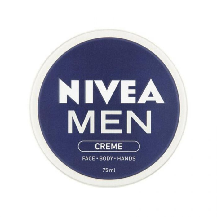 Nivea Mens Crã¨Me For Face, Body, Hands 75Ml <br> Pack size: 4 x 75ml <br> Product code: 265242
