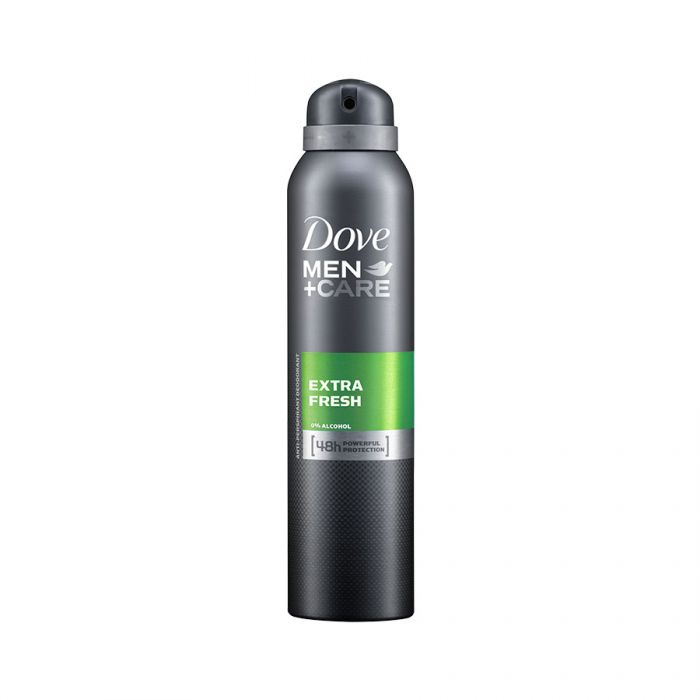 Dove Mens Anti-Perspirant Extra Fresh 150Ml <br> Pack size: 6 x 150ml <br> Product code: 271182
