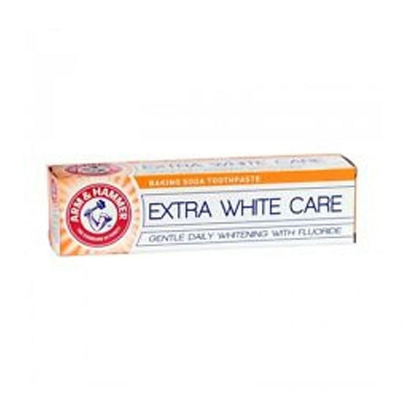 Arm & Hammer Toothpaste Extra White Care 125Ml <br> Pack size: 12 x 125ml <br> Product code: 281601