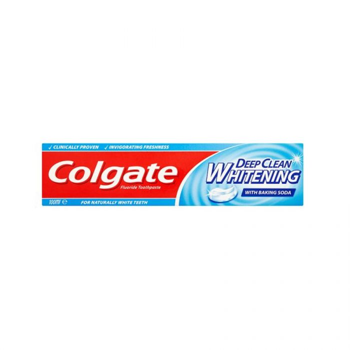 Colgate Toothpaste Deep Clean Whitening 100Ml <br> Pack size: 12 x 100ml <br> Product code: 282620