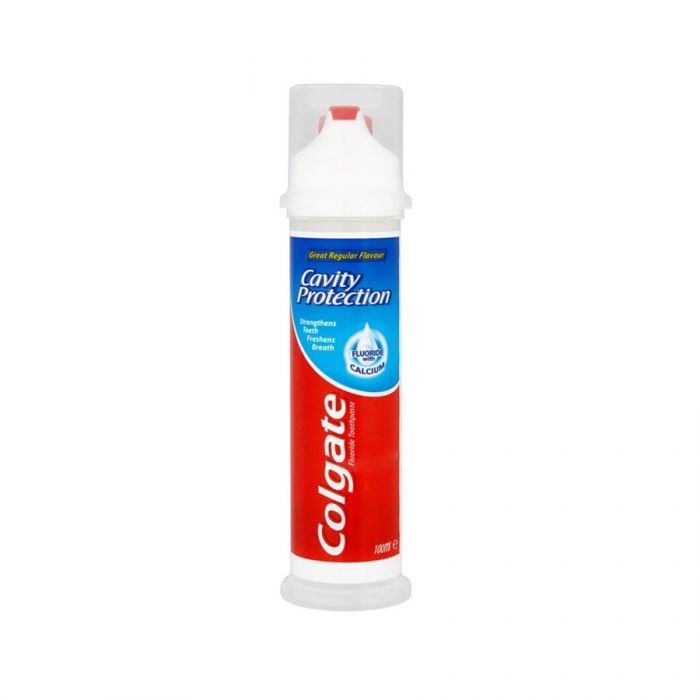 Colgate Pump Toothpaste Regular 100Ml <br> Pack size: 6 x 100ml <br> Product code: 282740