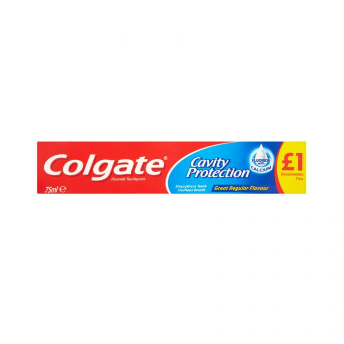 Colgate Toothpaste Regular 75Ml (Pm £1) <br> Pack size: 12 x 75ml <br> Product code: 282832