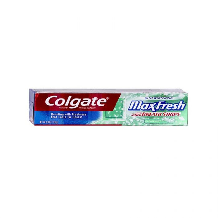 Colgate Toothpaste Max Fresh Clean 100Ml <br> Pack size: 12 x 100ml <br> Product code: 282852