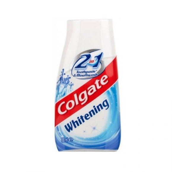Colgate 2In1 Whitening Toothpaste & Mouthwash 100Ml <br> Pack size: 12 x 100ml <br> Product code: 282854