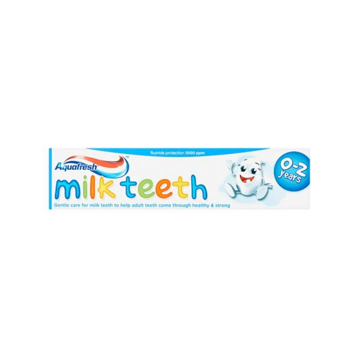 Aquafresh Toothpaste Milkteeth 50Ml <br> Pack size: 12 x 50ml <br> Product code: 284820