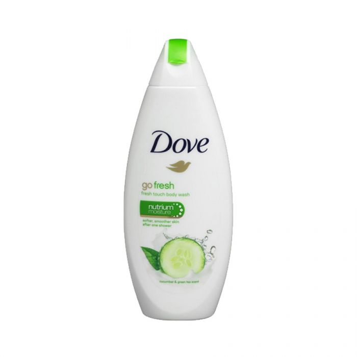 Dove Body Wash Fresh Touch 250Ml <br> Pack size: 6 x 250ml <br> Product code: 312880