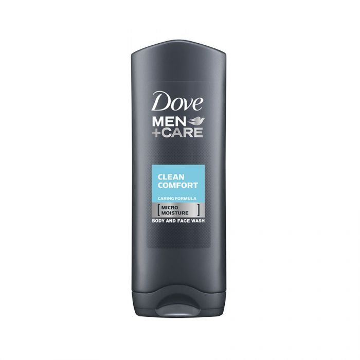 Dove Mens Shower Gel Clean Comfort 250Ml <br> Pack size: 6 x 250ml <br> Product code: 312887