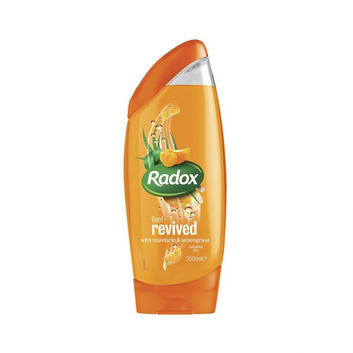 Radox Shower Gel Revived 250Ml <br> Pack size: 6 x 250ml <br> Product code: 316323