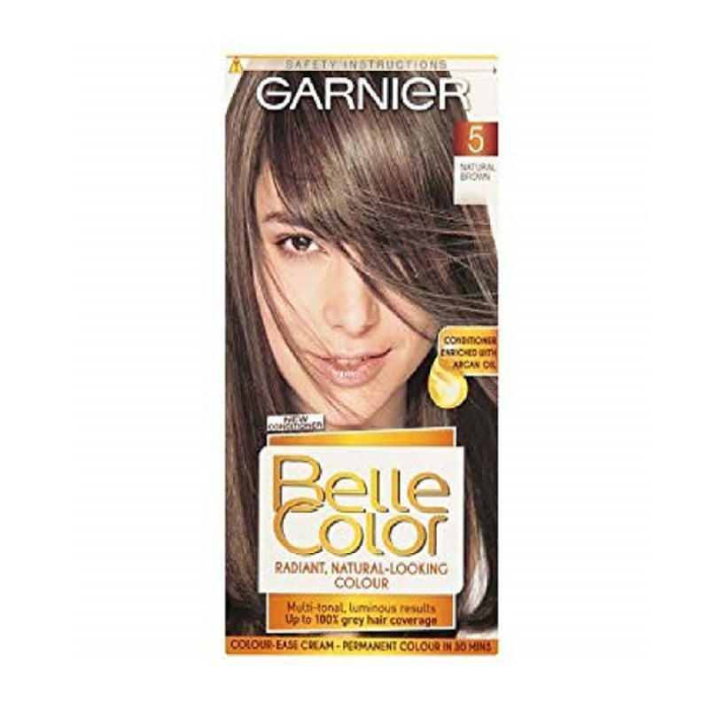 Garnier Belle Colour Brown (5) <br> Pack size: 3 x 1 <br> Product code: 200680