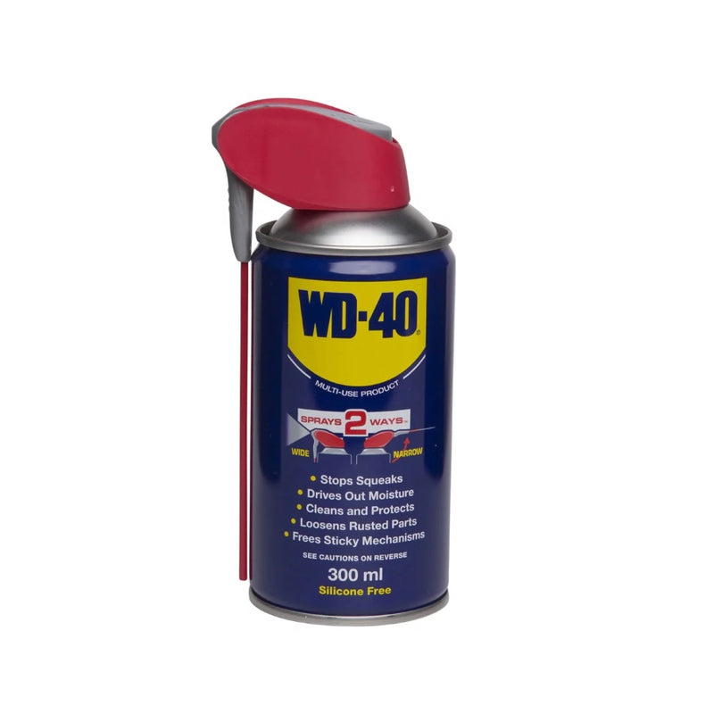 WD-40 Spray With Smart Straw 300ml <br> Pack size: 6 x 300ml <br> Product code: 433007