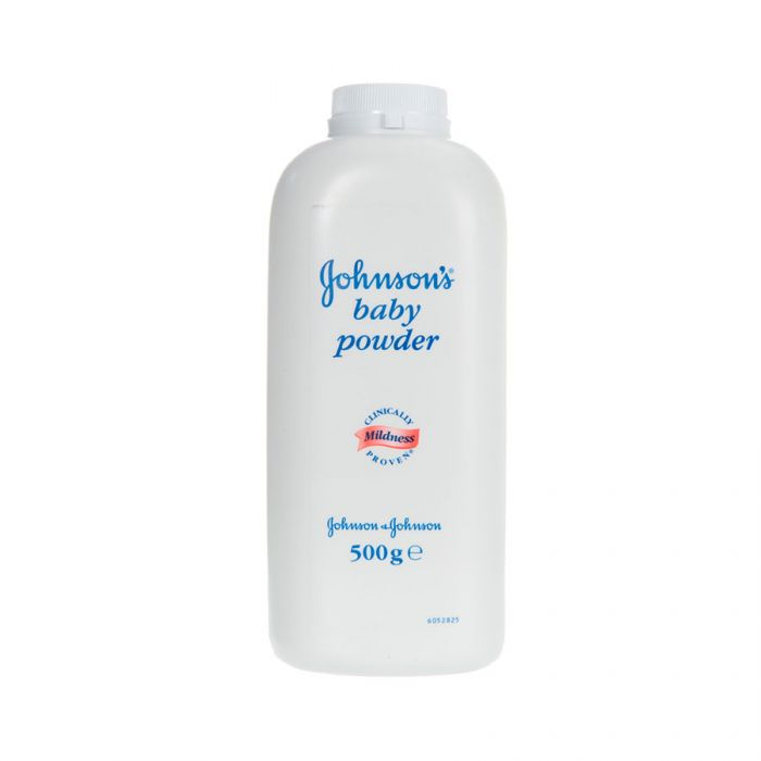 Johnson'S Baby Powder 500G <br> Pack size: 6 x 500g <br> Product code: 402310