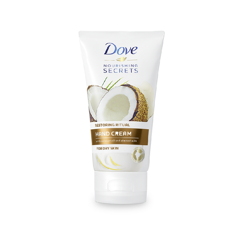 Dove Hand Cream 75Ml Coco & Almond <br> Pack size: 6 x 75ml <br> Product code: 222818
