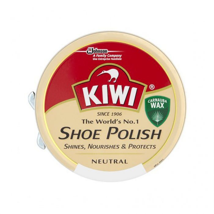 Kiwi Shoe Polish Neutral 50Ml <br> Pack size: 12 x 50ml <br> Product code: 513920