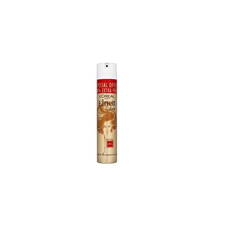 L'Oreal Elnett Hairspray Normal 200ml + 100ml <br> Pack size: 6 x 200ml <br> Product code: 163111