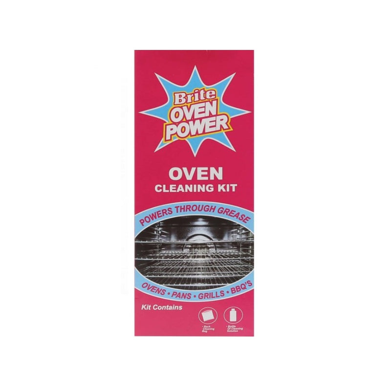 Homecare Brite Oven Power Cleaning Kit 330ml <br> Pack size: 6 x 330ml <br> Product code: 551849