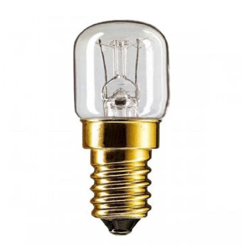 15W Oven Lamp Ses Clear 2'S <br> Pack size: 1 x 2 <br> Product code: 532701