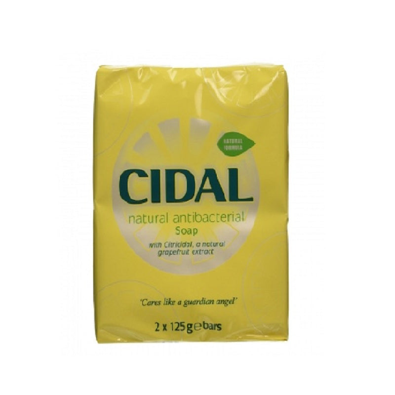 Cidal Bath Soap Twin Pack 2X125Gm <br> Pack size: 12 x 125g <br> Product code: 331900
