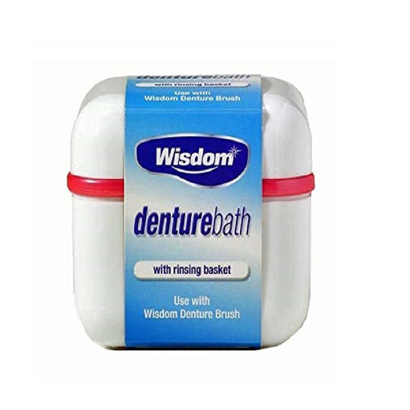 Wisdom Denture Bath <br> Pack size: 12 x 1 <br> Product code: 290500