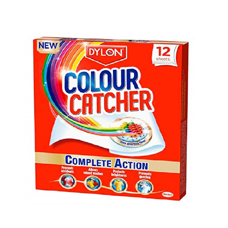 Dylon Colour Catcher Sheet 12'S <br> Pack size: 12 x 12s <br> Product code: 441160