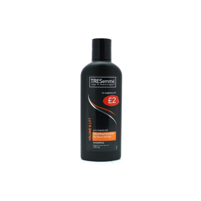 TRESemme Shampoo Volume & Lift 235ml (PM £2) <br> Pack size: 6 x 235ml <br> Product code: 171325