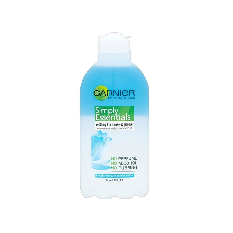 Garnier Simply Essentials 2in1 Make Up Remover 200ml <br> Pack size: 6 x 200ml <br> Product code: 226917