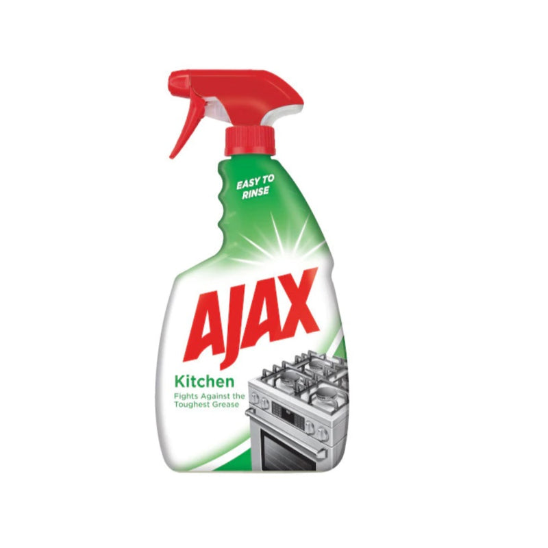 Ajax Kitchen Spray 750ml <br> Pack size: 12 x 750ml <br> Product code: 557413