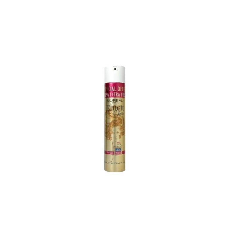 L'Oreal Elnett Hairspray UV Filter 200ml + 100ml <br> Pack size: 6 x 200ml <br> Product code: 163114