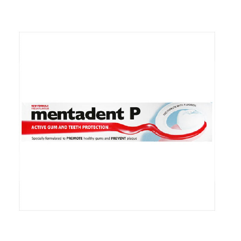 Mentadent P Toothpaste 100Ml Regular <br> Pack size: 12 x 100ml <br> Product code: 285310