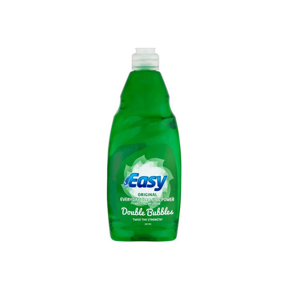 Easy Washing Up Liquid Original 500ml <br> Pack size: 8 x 500ml <br> Product code: 470096