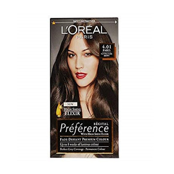 L'Oreal Recital Paris 4.01 <br> Pack size: 3 x 1 <br> Product code: 204850