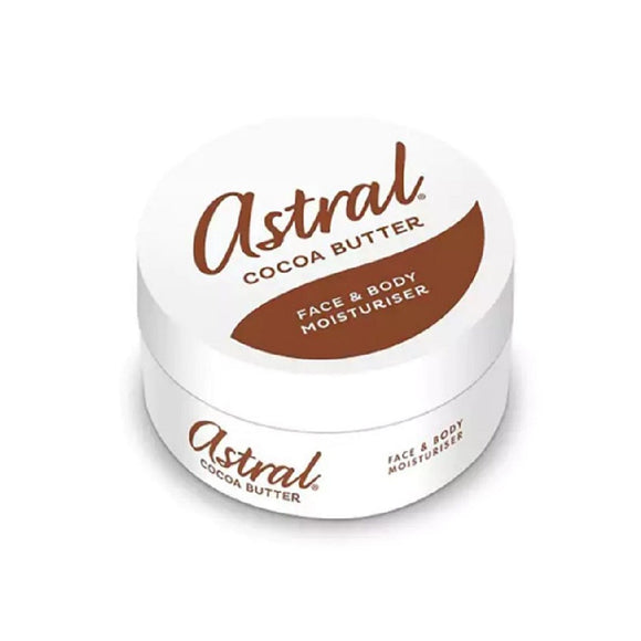 Astral Cocoa Butter Cream 200Ml <br> Pack size: 6 x 200ml <br> Product code: 221022